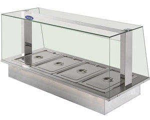 SFHBD - Synergy SQ dry heat bains 150mm deep enclosed