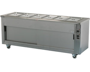 SCEP22 - Heavy duty Bains Marie hot cupboard