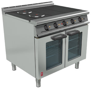 E3101OTC - Four Hotplate Fan-Assisted Oven Range