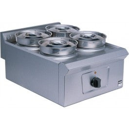LD36 - Dry Heat Bain Marie (4 stainless steel pots)