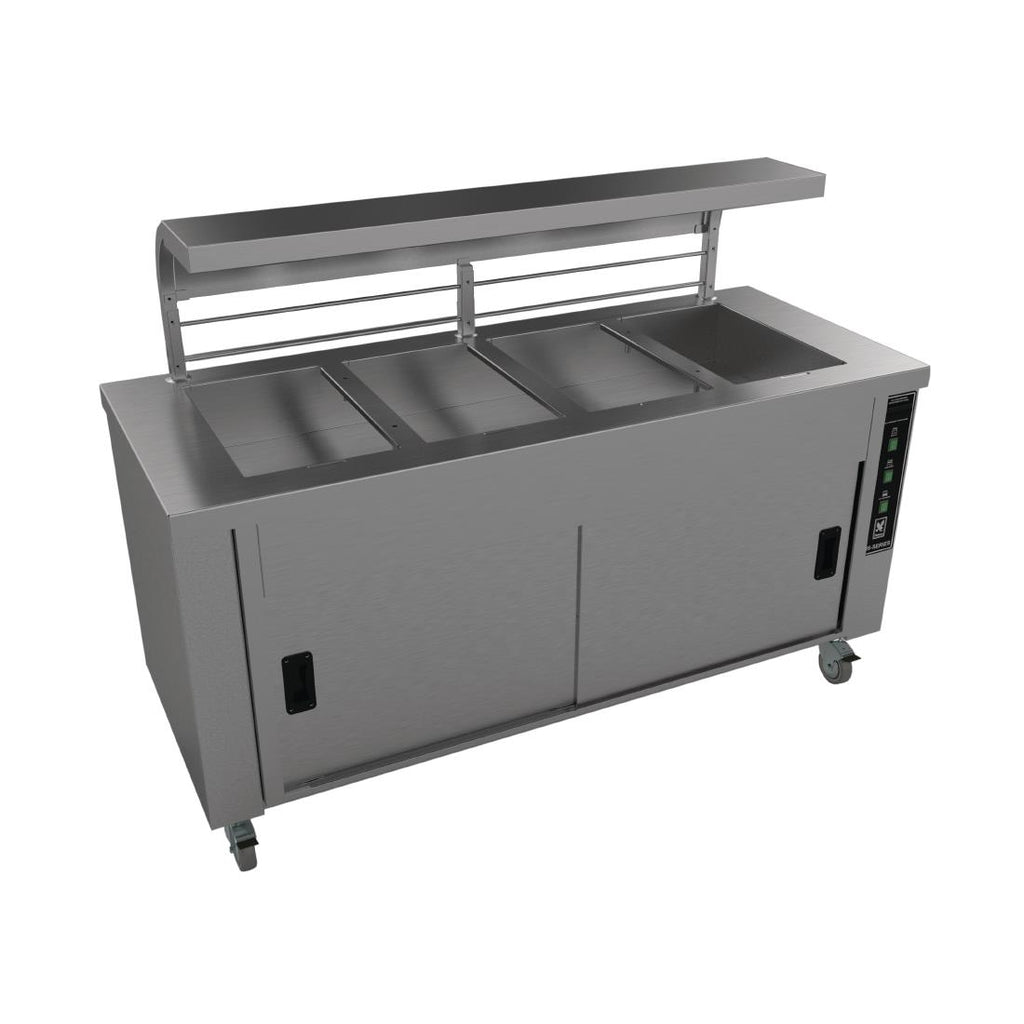 HS4  - Four Well Servery with Trayslide