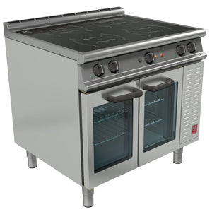E3914i  - Four Zone Induction Top Oven Range