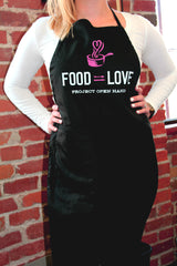 """Food=Love"" Apron"