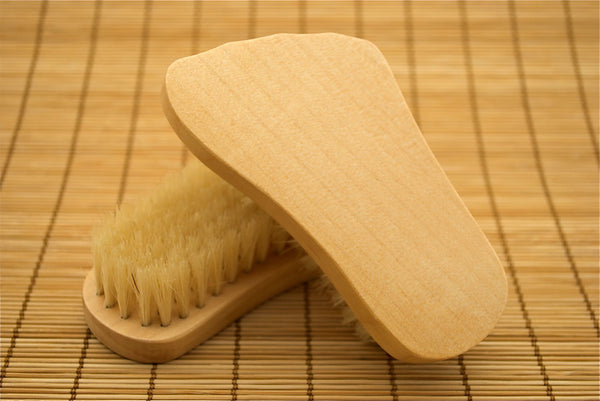Foot Shaped Brush
