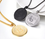 Bitcoin Necklace 3 Colors