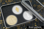 3 Coins Collector Box BTC, LTC, ETH