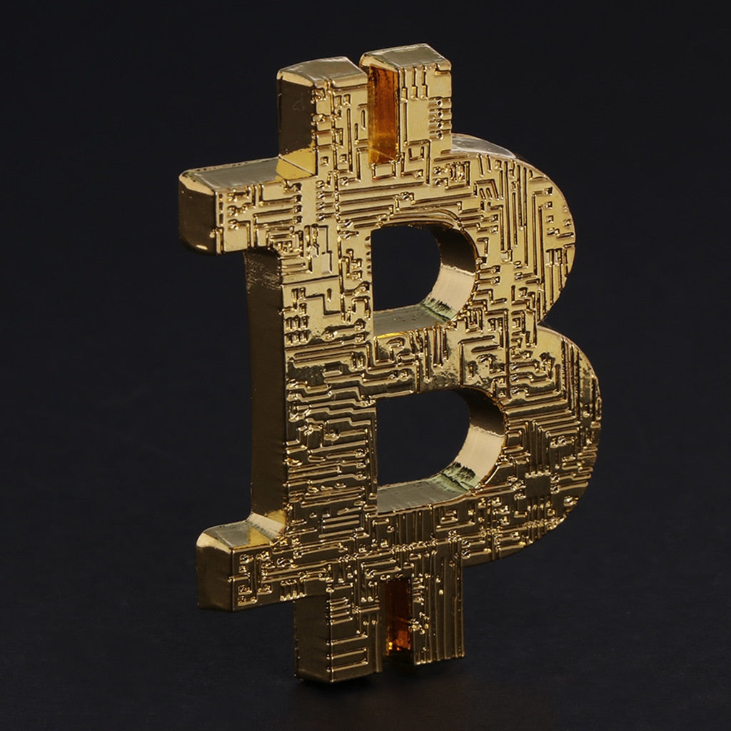Bitcoin 3D Commemorative Coin