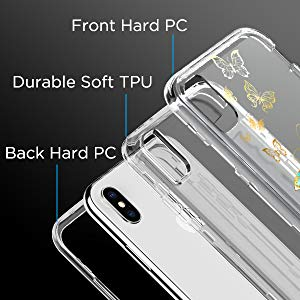 iPhone Xs max case containing