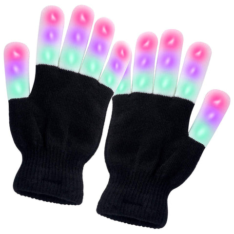 Turata LED Gloves Front View