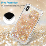 Badalink iPhone XS Max Glitter Case drop protection