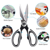 Turata heavy duty kitchen scissors details