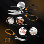 turata kitchen seafood scissors set advantages