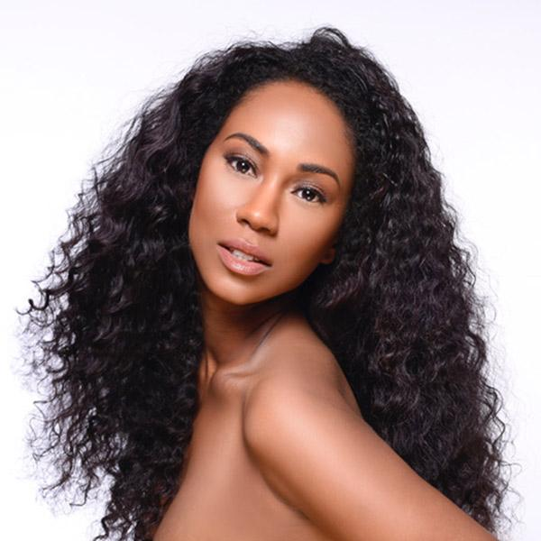 The Hair Factory Natural Long Deep Waves