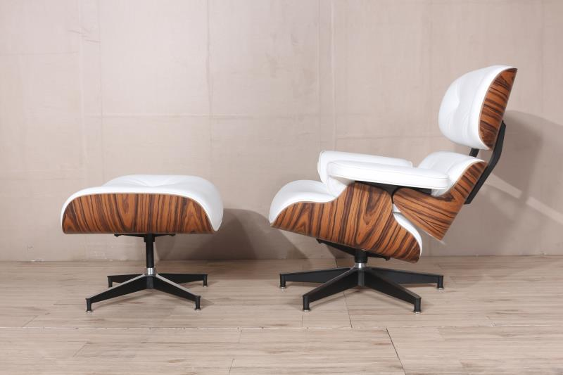 Charles Eames Lounge Chair And Ottoman Replica Rose Wood Decomica