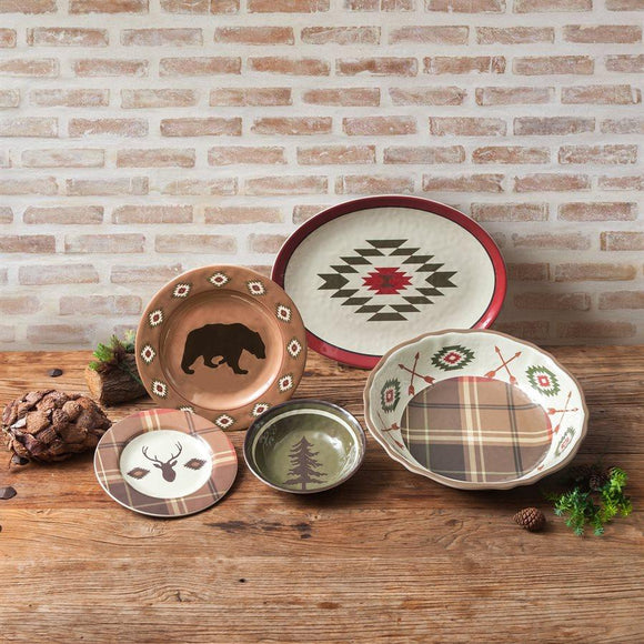 Aztec Bear Melamine Collection