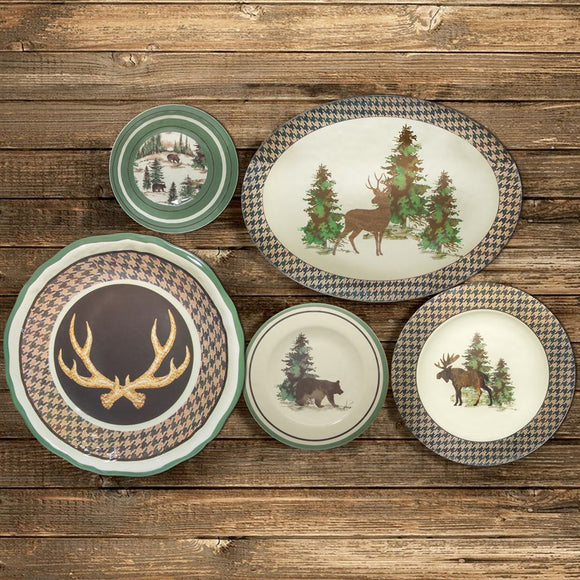 Joshua Lodge Melamine Collection by HiEnd Accents