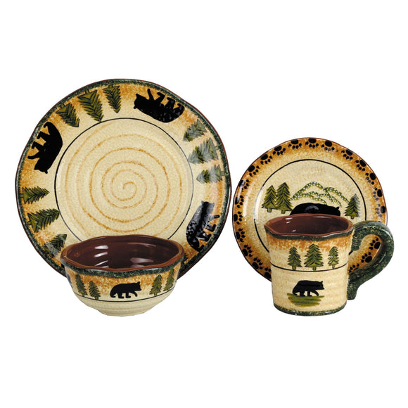 Bear Stoneware Collection by HiEnd Accents