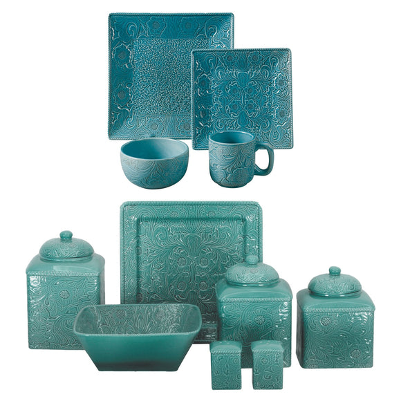 Savannah Turquoise Collection by HiEnd Accents
