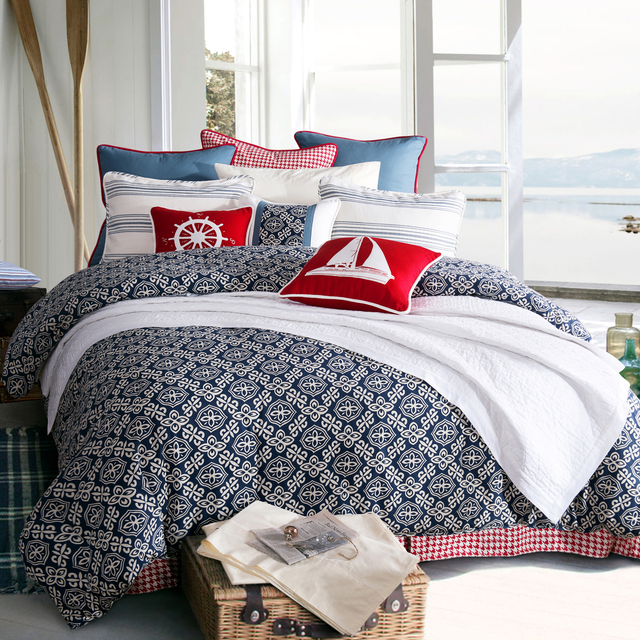 Coastal and Beach House Bedding Sale