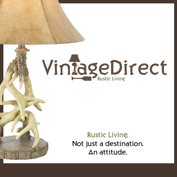 Vintage Direct - Rustic Lodge Western Cabin Lamps