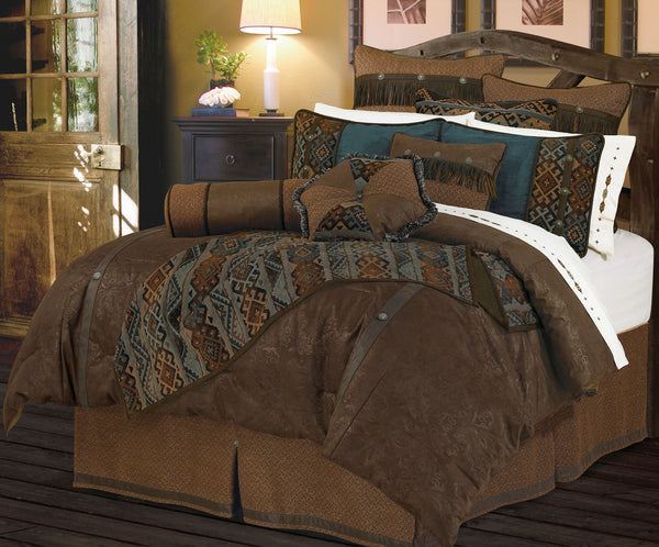 WS4006- Del Rio Bedding Set - Western Bedding by HiEnd Accents