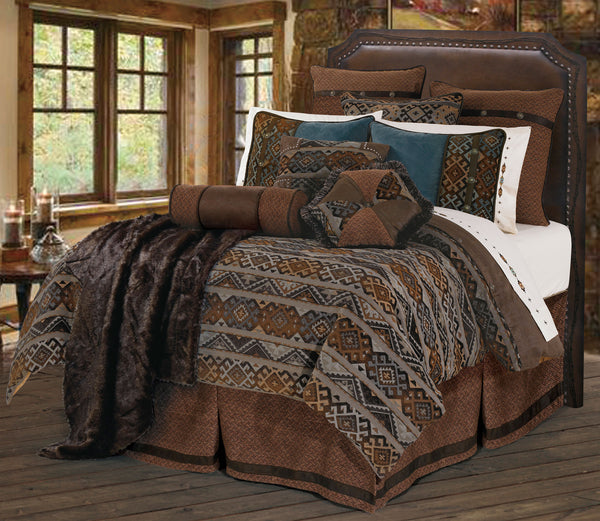 Rio Grande Bedding Set - Western Bedding by Hiend Accents