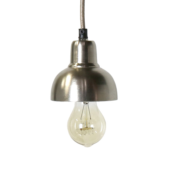 2490-18 - Webster Petite Metal Pendant - Nickle
