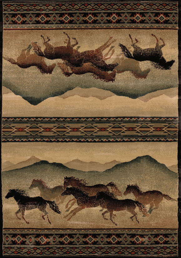 Genesis Chestnut Mare Lodge Rug