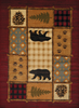 Affinity - Lodge Mosaic Cabin Rug - by United Weavers - ThunderHorseCabin.com