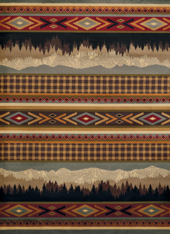 Affinity - Spring Mountains Cabin Rug - by United Weavers - ThunderHorseCabin.com