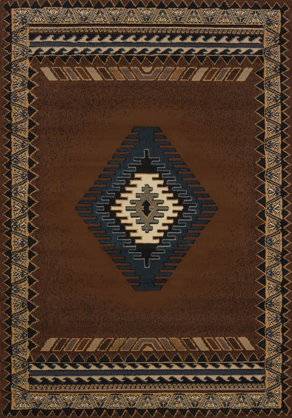 Manhattan - Tucson Brown Rug