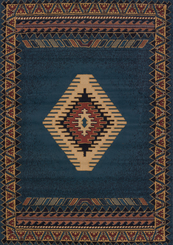 Manhattan - Tucson LT Blue Rug