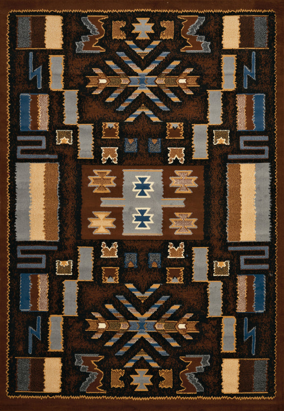 Manhattan - Pelham Brown Rug
