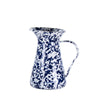 CB33 - Cobalt Blue Swirl - Enamelware- Small Pitcher by Golden Rabbit