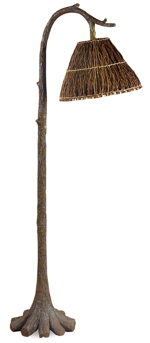 CFL1775 -  TREE TRUNK FLOOR LAMP by Vintage Direct Lamps - ThunderHorseCabin.com