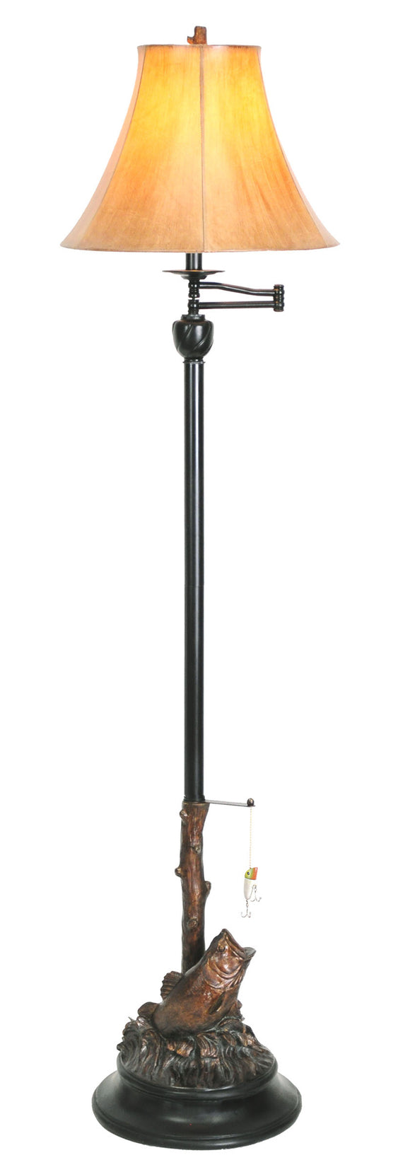 CFLBASS -  BASS FLOOR LAMP by Vintage Direct Lamps - ThunderHorseCabin.com