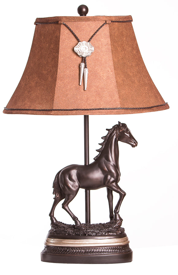 CL1021 - Horse Table Lamp by Vintage Direct - ThunderHorseCabin.com