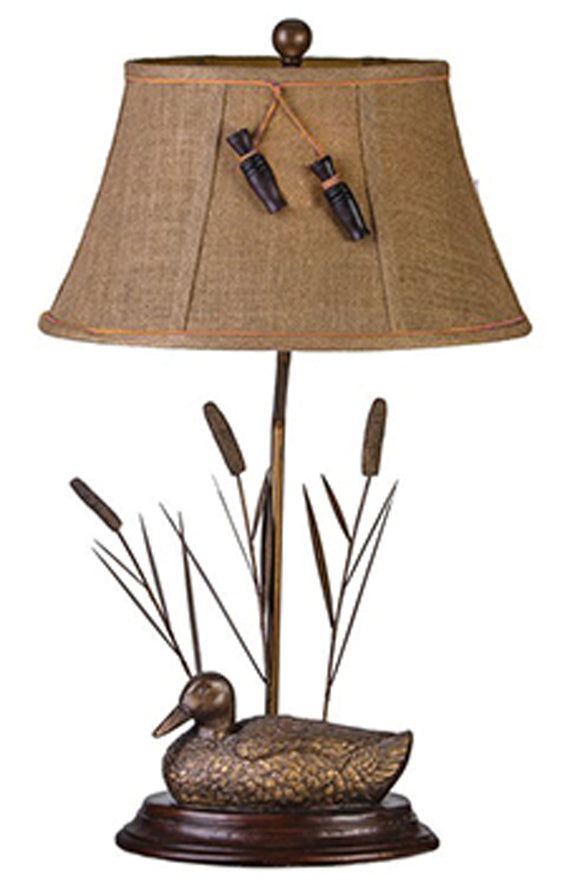 CL1341MD -  MALLARD TABLE LAMP by Vintage Direct Lamps - ThunderHorseCabin.com