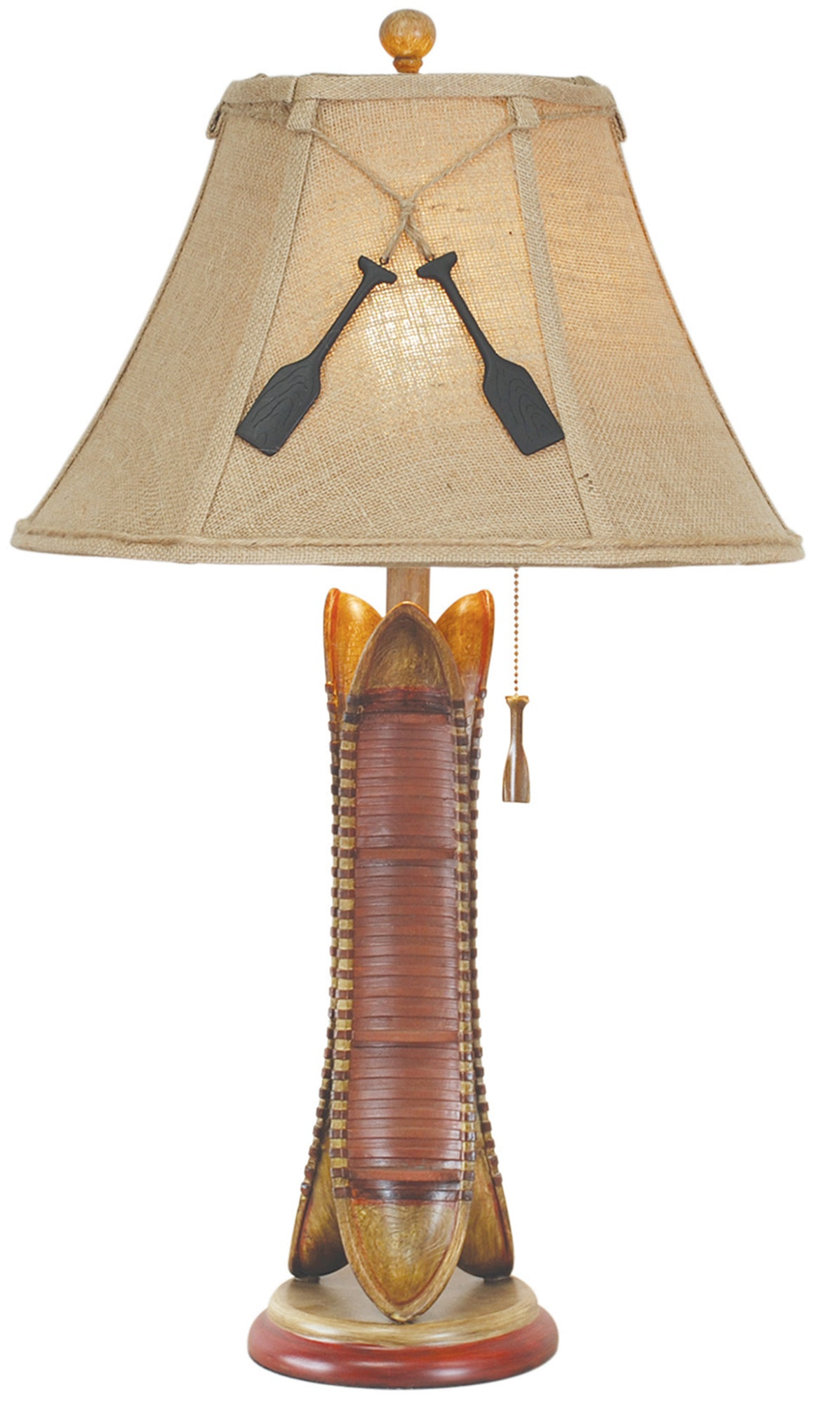 CL1766S -  CANOE TABLE LAMP by Vintage Direct Lamps - ThunderHorseCabin.com