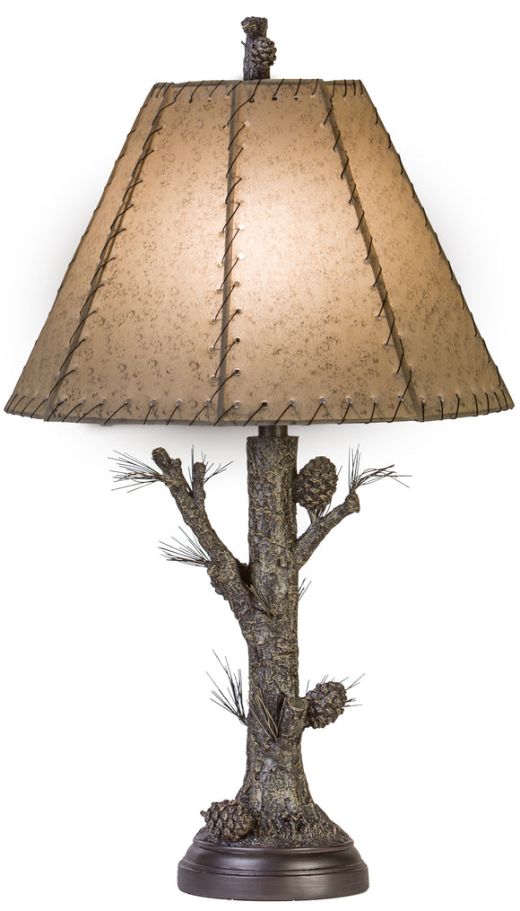 CL1774S -  PINECONE TABLE LAMP by Vintage Direct Lamps - ThunderHorseCabin.com