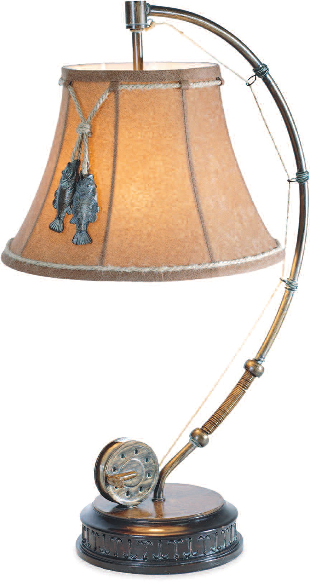 CL1817S -  CATCH OF THE DAY TABLE LAMP by Vintage Direct Lamps - ThunderHorseCabin.com