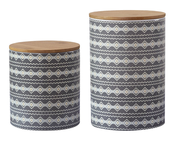 CS194001 -  Large Aztec Design - Canister Set