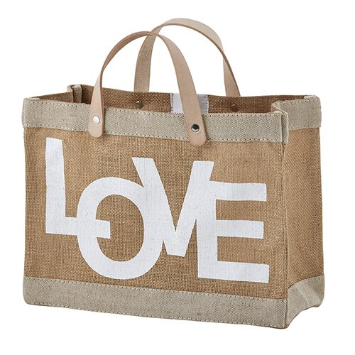 D4269 - Mini Market Tote - Love