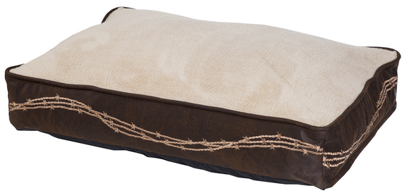 DB3190 - Embroidered Dog Bed - Western Bedding by HiEnd Accents - ThunderHorseCabin.com