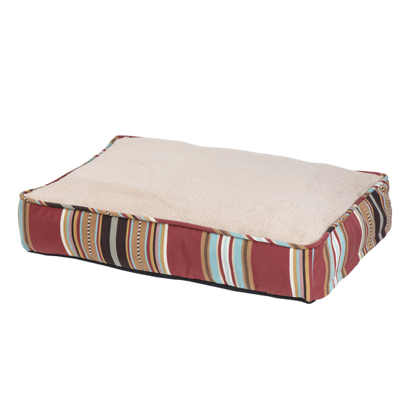 DB4060 - Calhoun Striped Pet Bed - Western Bedding by HiEnd Accents - ThunderHorseCabin.com