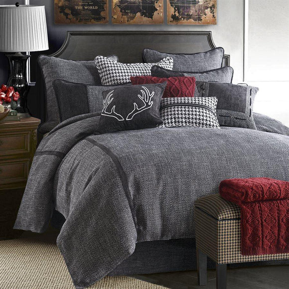 FB1713 - Hamilton Bedding Set - Lodge Bedding by HiEnd Accents