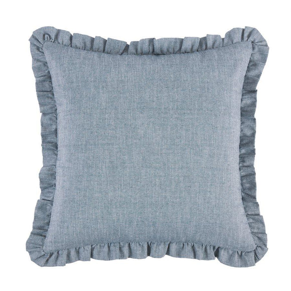 "FB1751ES - Chambray Euro Sham - 27""x27""  by HiEnd Accents"