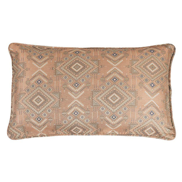 "FB1811P1 - Pale Sienna Geometric Body Pillow - 21""x 34"" by HiEnd Accents"