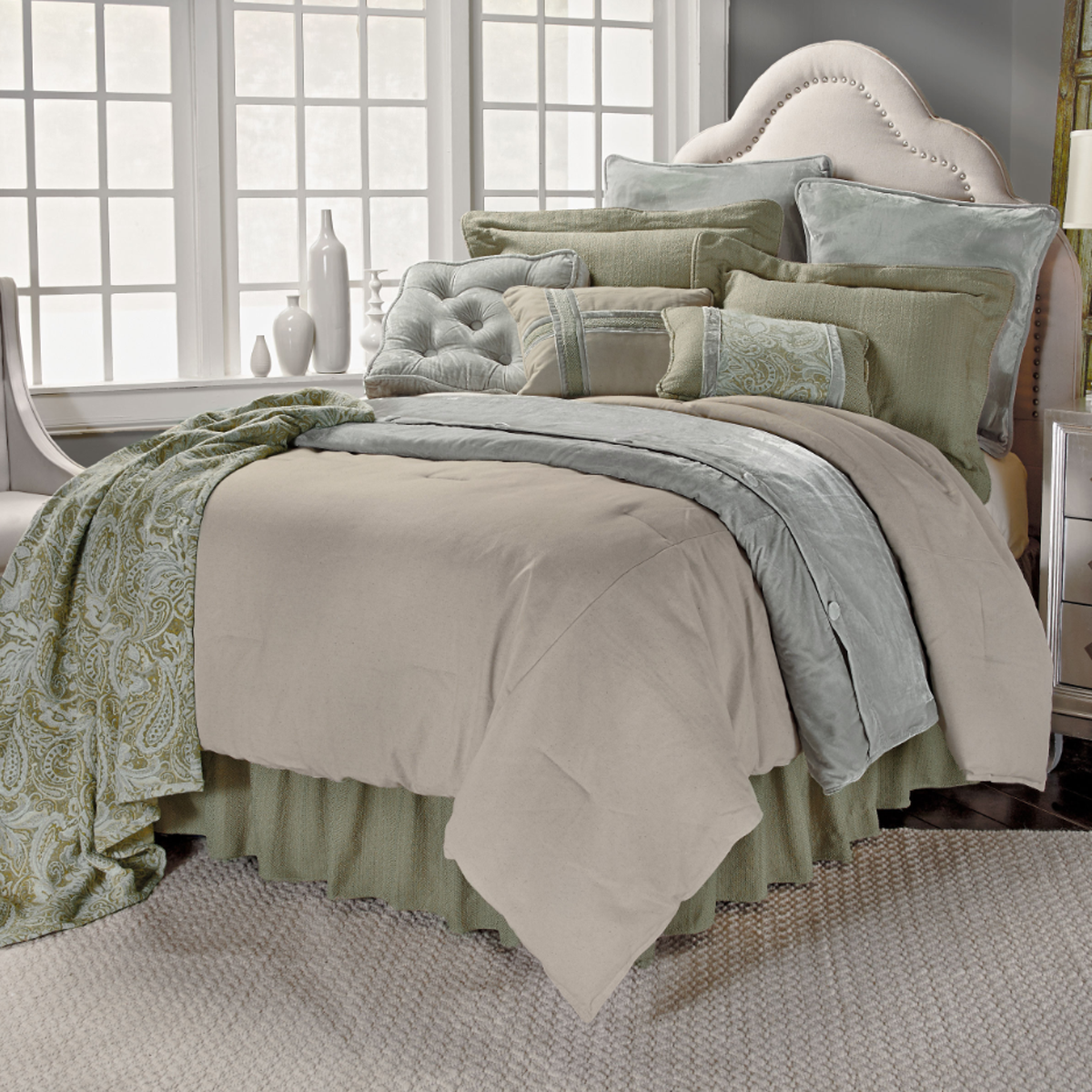 FB3801 Arlington  Bedding Set - ThunderHorseCabin.com