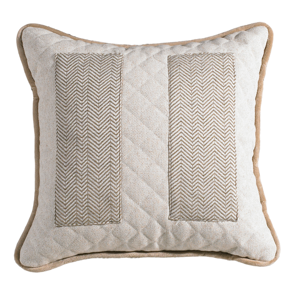 FB3900P1 Fairfield Herringbone Pocket Pillow - ThunderHorseCabin.com